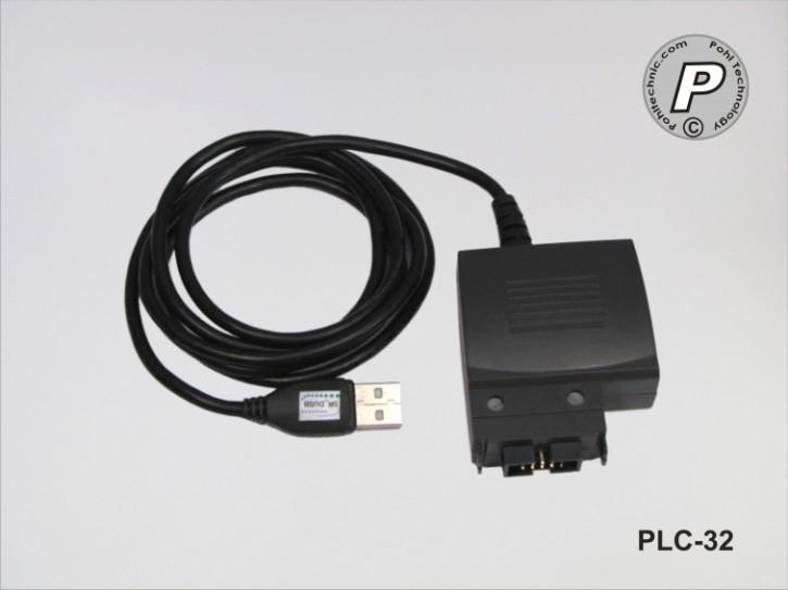 PLC-32 USB Datentransferkabel zwischen PC / SR-Modul