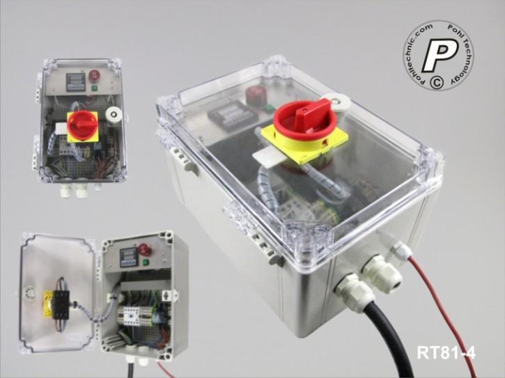 RT81-4 Temperatur- und Timersteuerung 400 V Lastschaltung