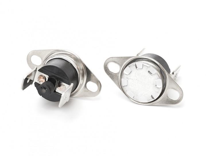 Bimetall-Temperaturschalter manuelle Wiedereinschaltung 80°C