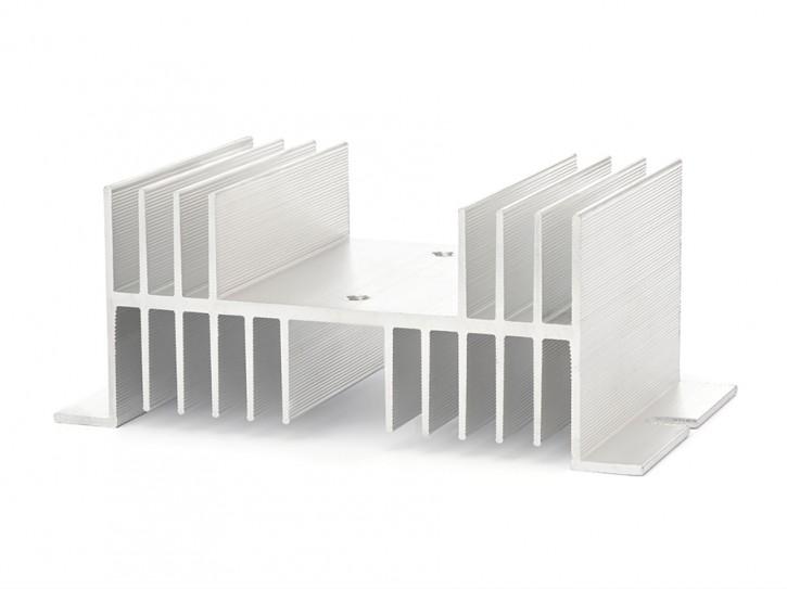 Kühlkörper für SSR Relais, flache Bauform 125x70mm