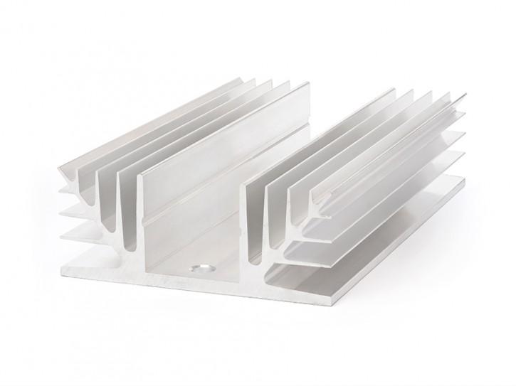 Kühlkörper für SSR Relais, flach für 400V SSR-Relais, 150x90mm