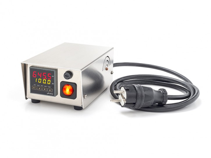 Kompakte Temperatursteuerung max. 10 Ampere Typ K Miniaturbuchse / nein