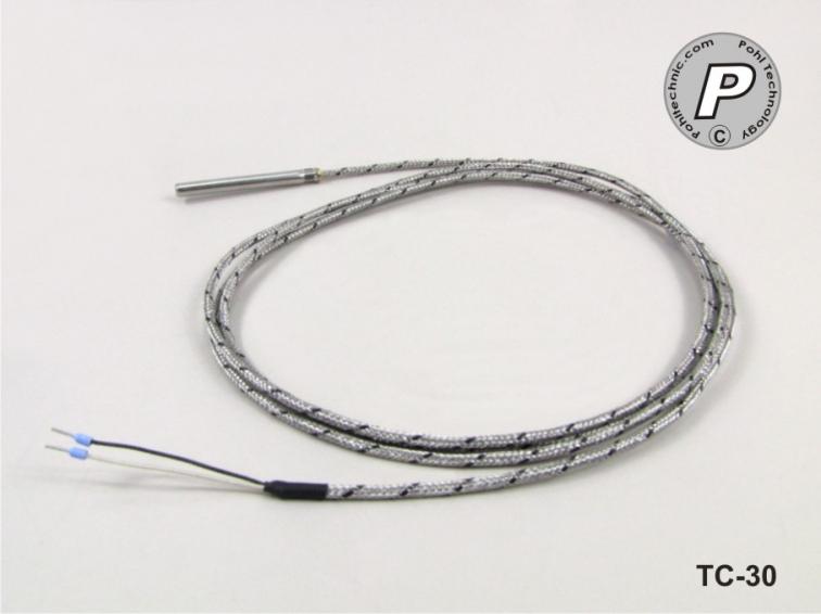 Thermocouple type L.. 400 ° C 60x6mm