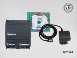 SET-501 Einsteigerset 1 AC-Kleinsteuerung SR-Serie