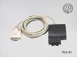 PLC-31 RS232 Datentransferkabel zwischen PC / SR-Modul