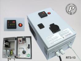 RT3-13 P.I.D.-Temperaturregler RT3-13 Lastschaltung 230VAC 16A