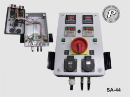 2-Kanal P.I.D. oder ON/Off- Temperatursteuerung mit Timer