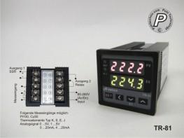 TR-81 A-Senco Temperaturregler Sensor u. Analoginput / SSR-Ausgang