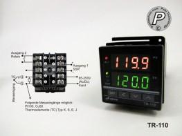 TR-110 A-senco Temperaturregler mit Rampenfunktion