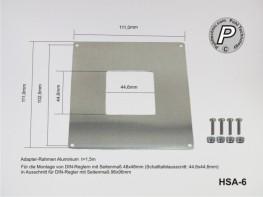 HSA-6 Adapterrahmen für Einbauregler 48x48mm zu 96x96mm