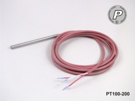 PT100-200 Temperaturfühler 100x6mm