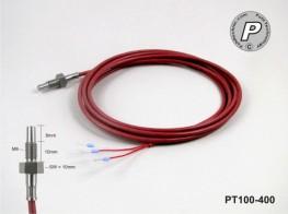 PT100-400 Temperatursensor mit M6-Gewinde
