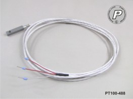 PT100-488 Anlegefühler m. Bohrung