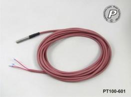 PT100-601 Wasserdicht IP68 50x6mm mit 4m Leitung