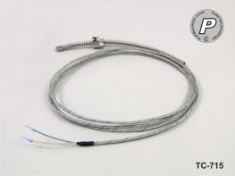 TC-715 Typ K Bajonettfühler ...400°C Durchm. 8mm