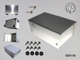 GEH-50 Tischgehäuse Größe 1, Universalgehäuse ohne Ausschnitte