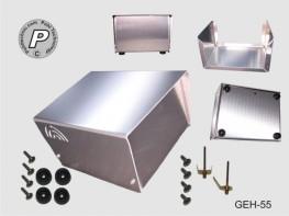 GEH-55 Tischgehäuse, Größe 2 Universalgehäuse ohne Ausschnitte