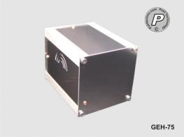 GEH-75 Tischgehäuse, Instrumentengehäuse GEH-75 ohne Ausfräsungen