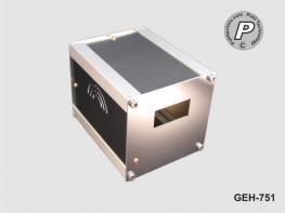 G-75S1 Tischgehäuse, Instrumentengehäuse GEH-751 Ausfräsung für DIN 1/32