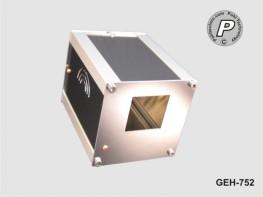 G-75S2 Tischgehäuse, Instrumentengehäuse G-75S2 Ausfräsung für DIN1/16