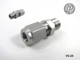 VS-28 Fühlerverschraubung 6mm, 1/8'', V4A, mit PTFE Quetschring