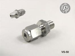 VS-50 Fühlerverschraubung 3mm, M8x1 Gew., V4A, mit PTFE Quetschring
