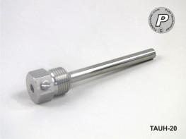 TAUH-20 Tauchhülse für Temperaturfühler z. B. PT100 / 100x6mm