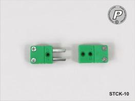 STCK-10 Kupplung für Thermoelement - Leitung Typ K Temperaturfühler