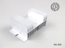 KK-505 Kühlkörper für SSR Relais, flache Bauform, Gr.1