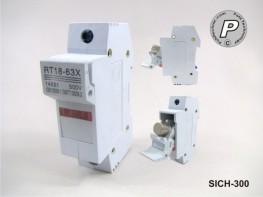 SICH-300 SSR/SCR-Sicherungshalter Gr. 2 (Sicherungseinsätze 14x51mm)