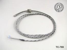 TC-769 Einsteck-Thermoelement mit Bajonettverriegelung