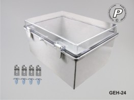 GEH-24 Wandschaltschrank Kunststoff 390x290x160mm (BxHxT)