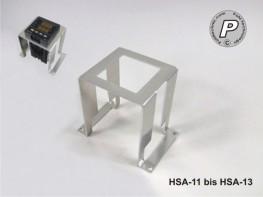 HSA-11 bis HSA-13 Adapterrahmen für Einbauregler 48x48mm auf Montageplatte