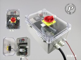 RT81-4 Temperatur- und Timersteuerung RT81-4, 400 V Lastschaltung