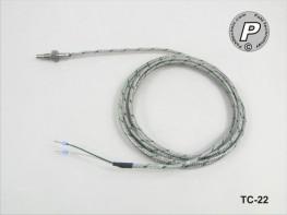 TC-22 Thermoelement Typ K ...450°C mit M6x1-Kurzgewinde