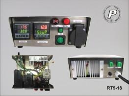 Sicherheits-Rampen-Temperatursteuerung bis 16A Last Typ K Miniaturbuchse