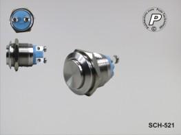 SCH-521 Metallischer Tastschalter 230V max. 3A