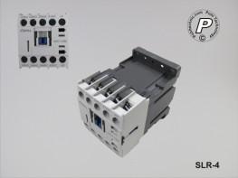 SLR-4 Universal Lastrelais für 24 VDC 3xNO 1xNC 20A