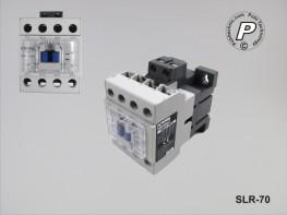SLR-70 Universal Lastrelais für 230V / 400VAC 4xNO 60A