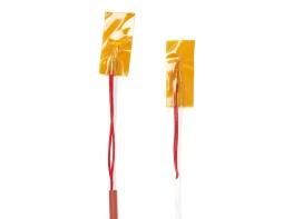 Pt100 Kaptonband-Anlegefühler PFA / PFA 3x0,22mm² -50 ...+260°C / 2 Meter