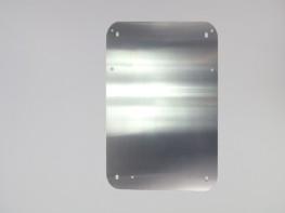 Aluminium-Montageplatte für Wandschaltschrank Zwischenplatte / GEH-24
