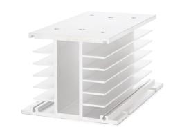 Lüfterbefestigung Kühlkörper für SSR Relais 55x100x80mm
