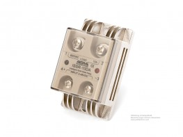Intelligente SSR-Relais mit Überhitzungsschutz AC / AC, 24-480V AC Steuerspannung 40 A