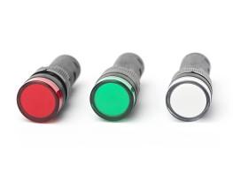 LED Signallampe, Kopfdurchmesser ca. 19mm Rot / 24V DC