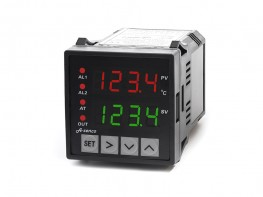 Temperaturregler A-senco 1x SSR + 2x Relais-Ausgang 24V DC