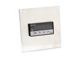 Einbaublende für Einbauregler HSA-7: 24x48 zu 72x72mm