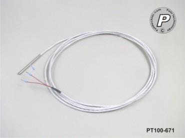 PT100-671 Temperaturfühler 50x3mm wasserdicht, lebensmittelecht