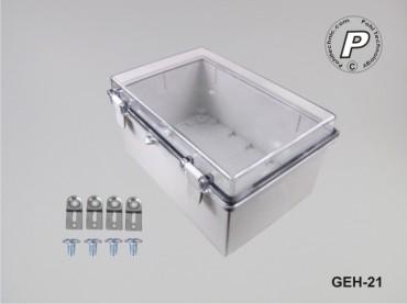 GEH-21 Wandschaltschrank Kunststoff 290x190x140mm (BxHxT)