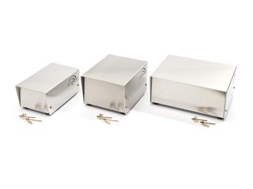 Tischgehäuse aus Aluminium mittel: 90x135x180mm