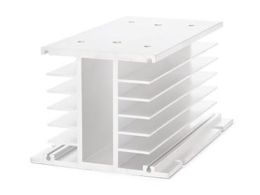Kühlkörper für SSR Relais 150x100x80mm + Lüfterbefestigung